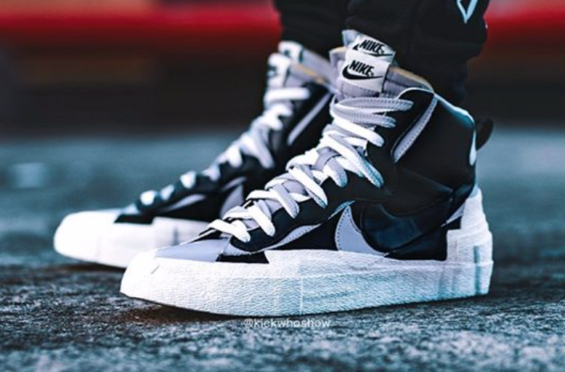 What Would You Rate The sacai x Nike Blazer Mid Black Grey