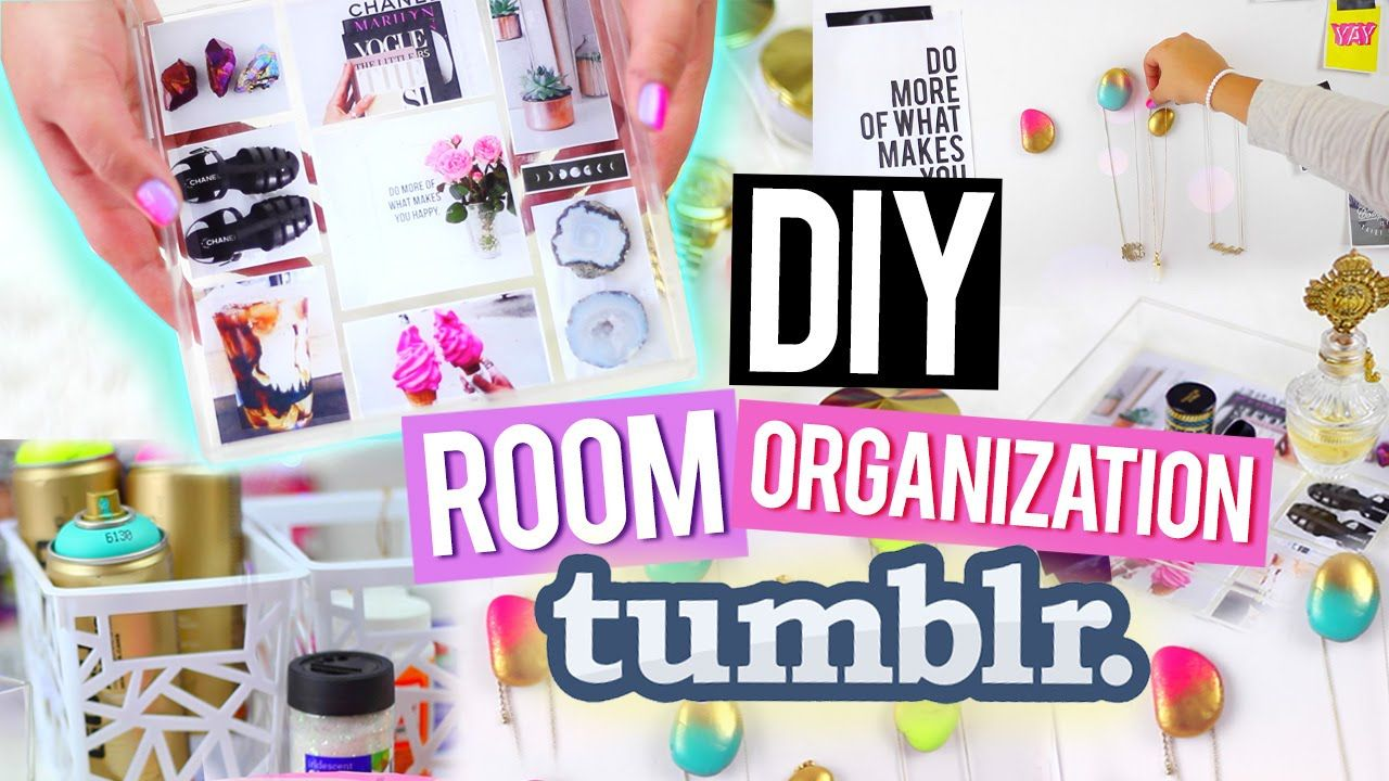 Diy Room Organization For Cheap Tumblr Inspired Decor Tumblr