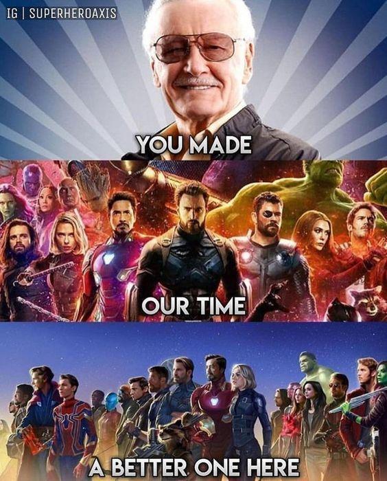 Hot 15 Stan Lee Memory Memes