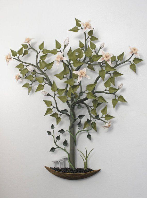 origami bonsai garden for your wall origami pinterest