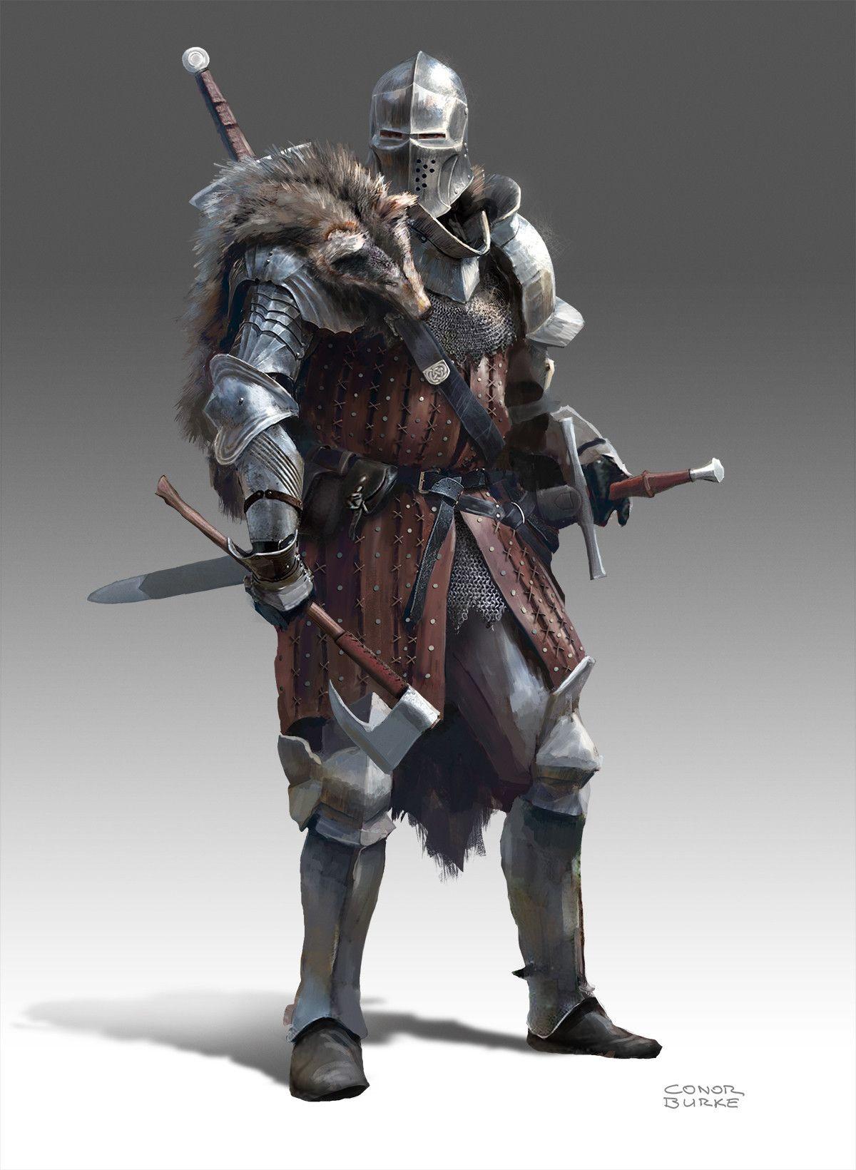 Fantasy Medieval Knight Quark Master&#3...