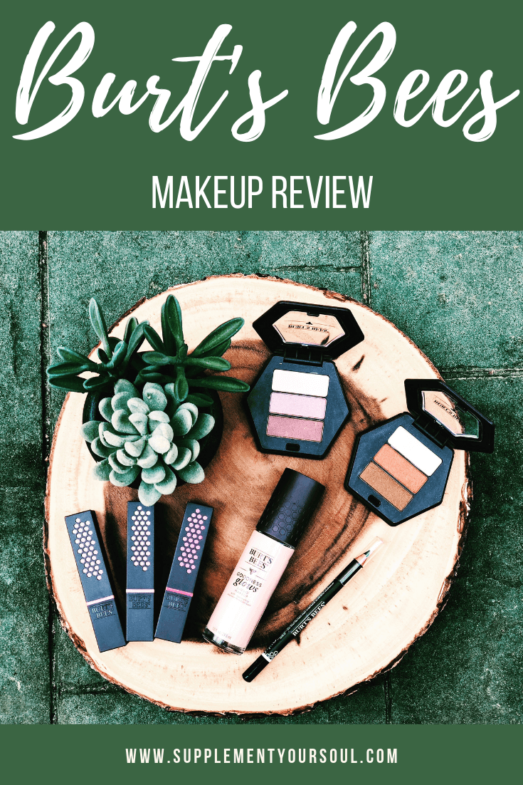 Green Beauty Review Burt's Bees Burts bees makeup, Bee