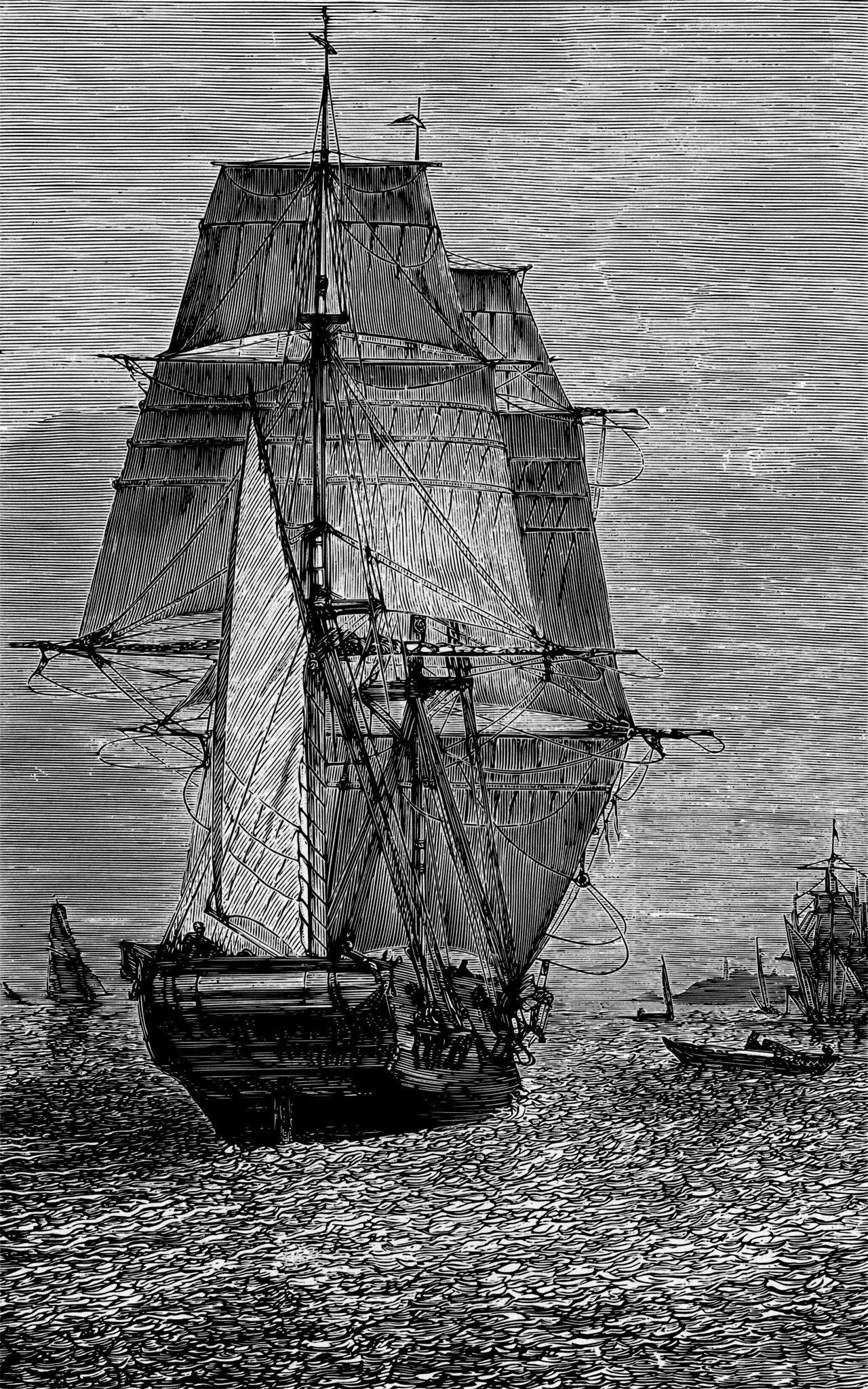 Phosphorescent Sea Hms Beagle From What Mr Darwin Saw In His