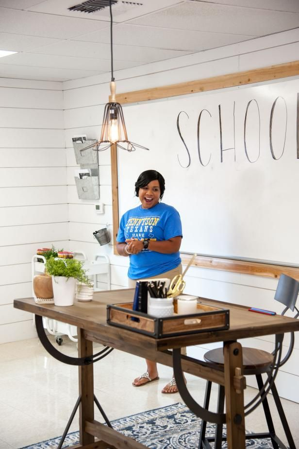 Love Fixer Upper? Check Out This Classroom Makeover #elementaryclassroomdecor