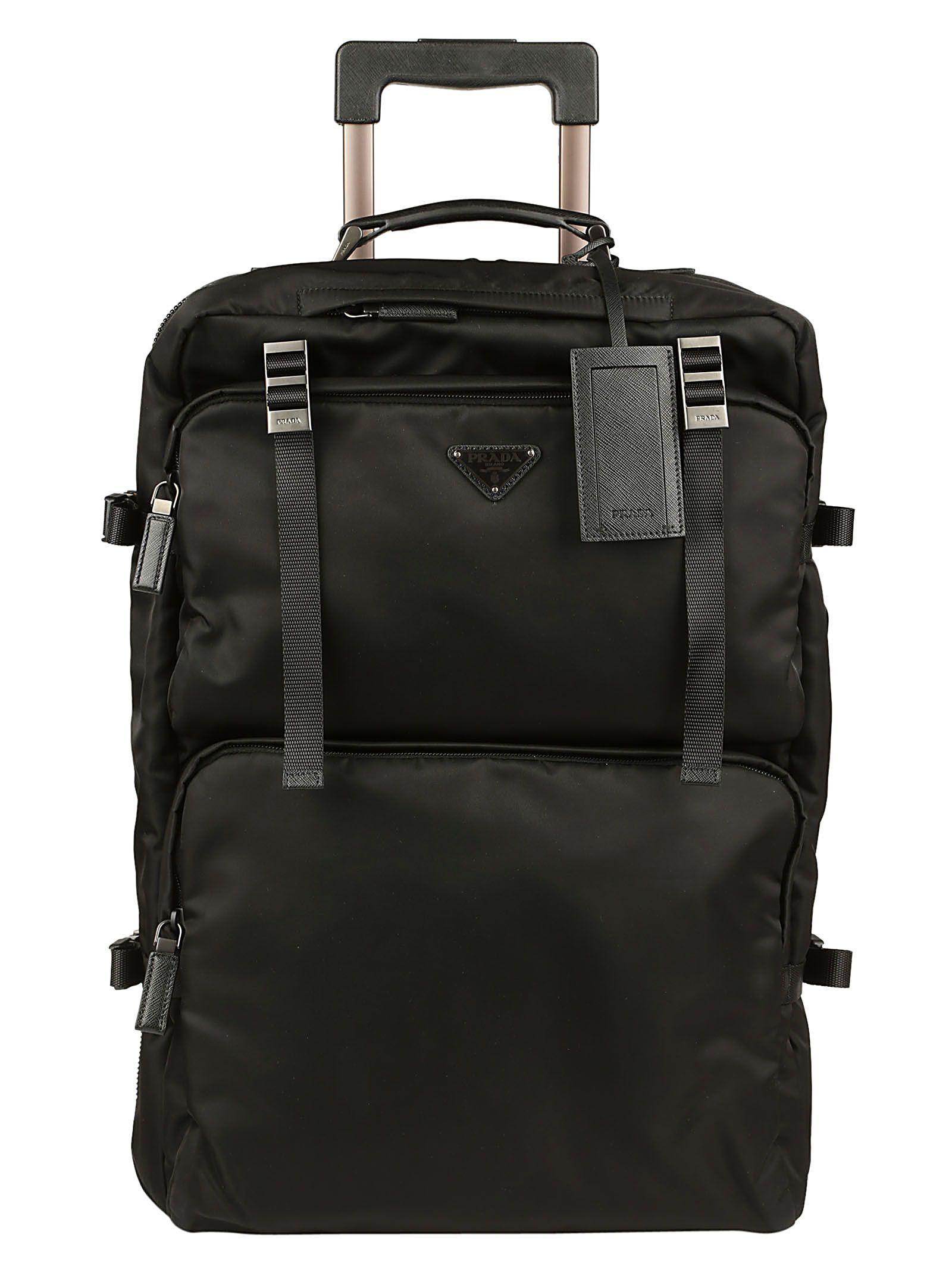 95be922fc7dc PRADA TRAVEL BAG. #prada #bags #trolley #leather #travel bags #nylon ...