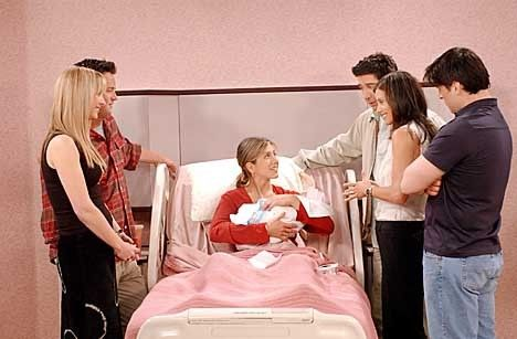 Lisa Moore's Very, Very Pregnant February | Friends<3 | Friends