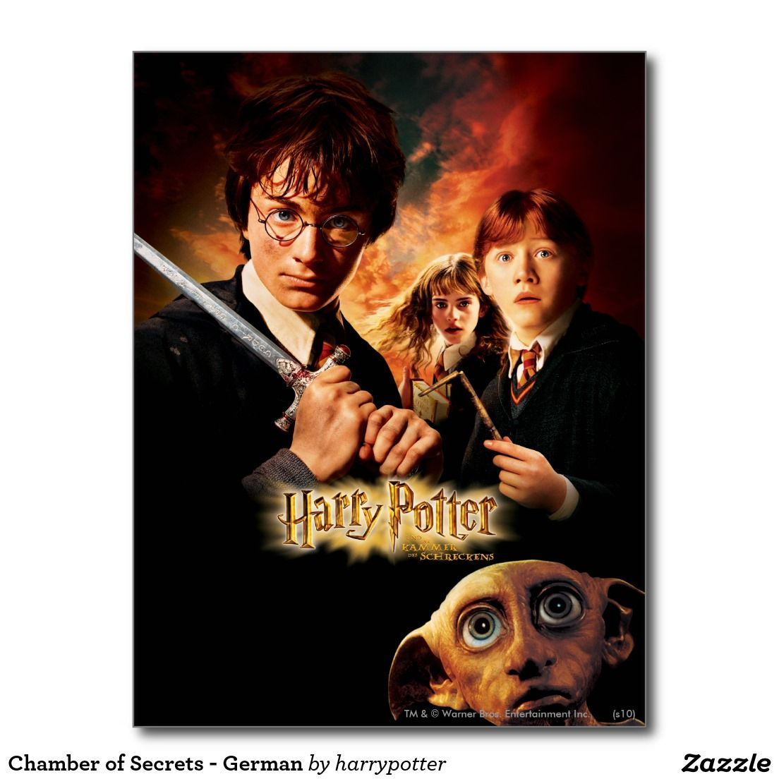 Harry Potter Chamber of Secrets Postcards new