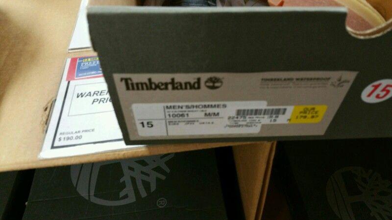 Yep timberland.