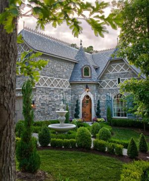 The enchanting storybook home plans included here feature for Fairy tale home plans