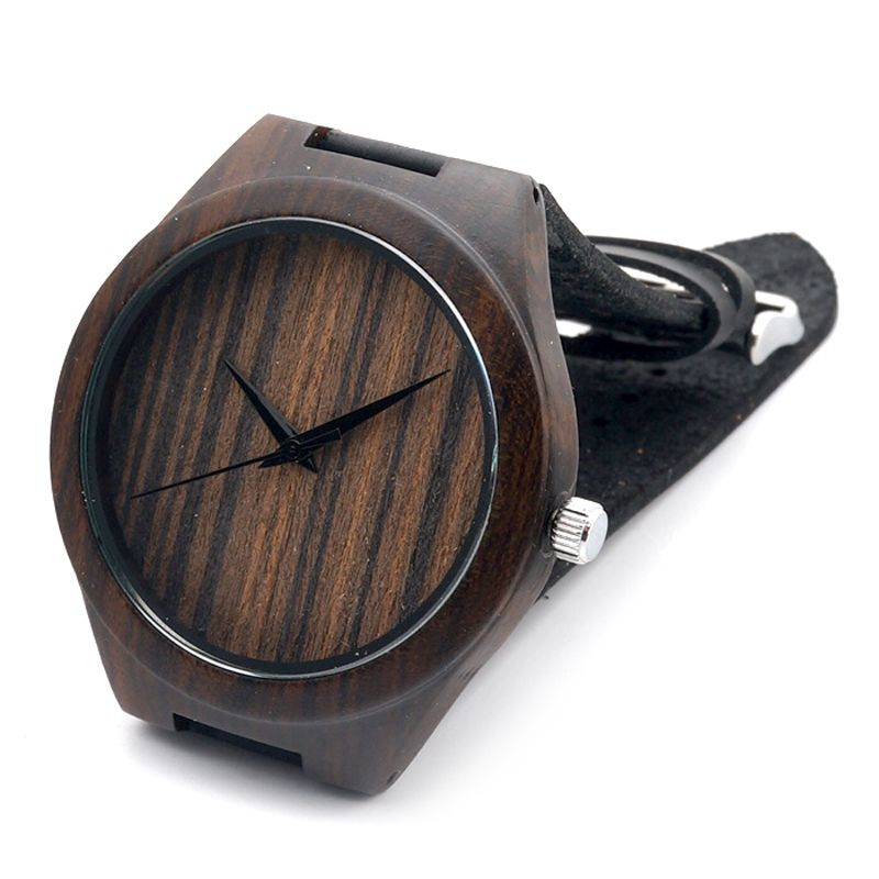 aarni wooden watches xo curly birch men and women wooden bobo bird classic ebony wood watches relogio men s luxulry brand designer leather band quartz watch men
