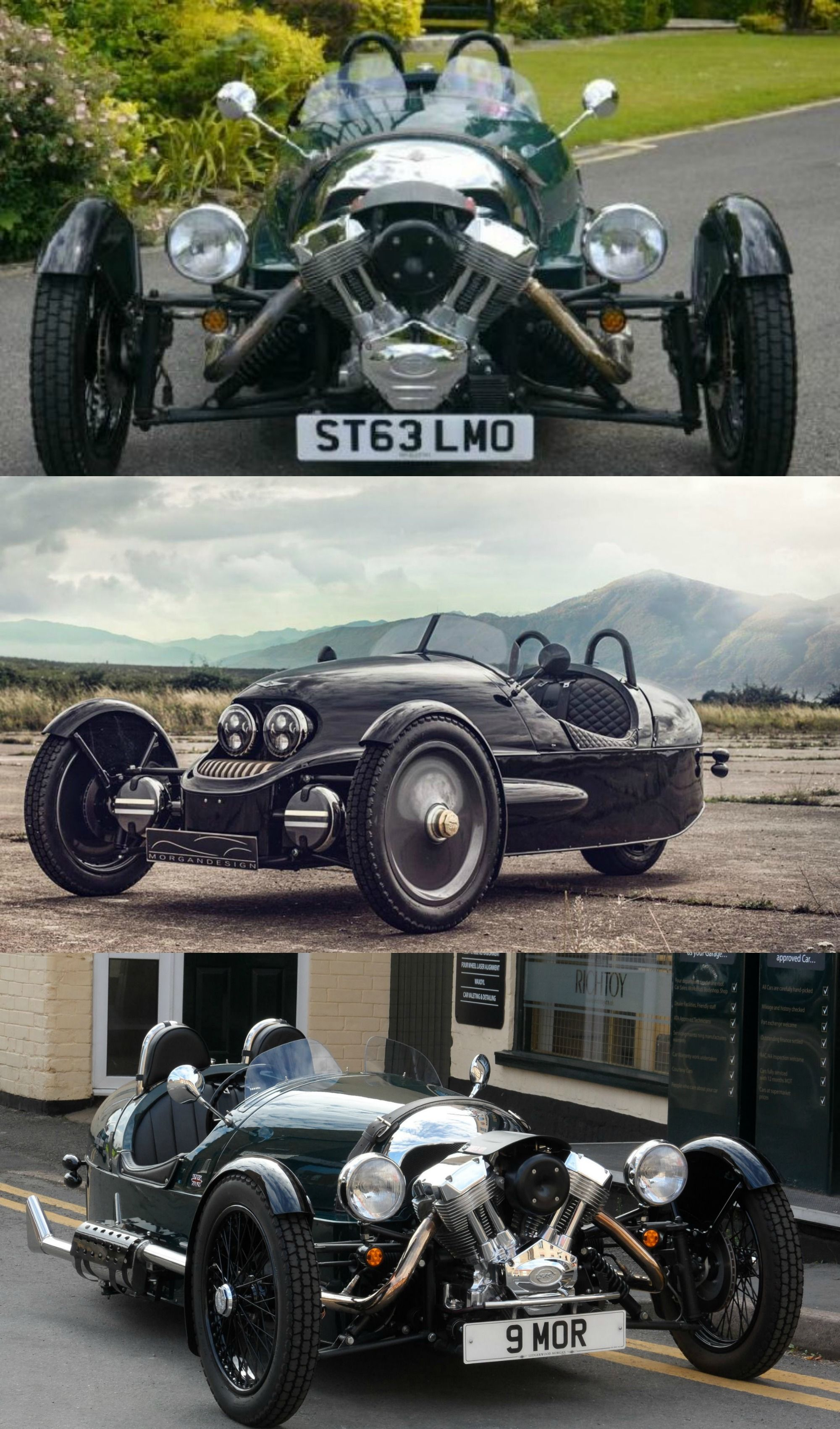 Morgan\'s Limited Edition 3-Wheeler EV Exclusively On Sale at ...
