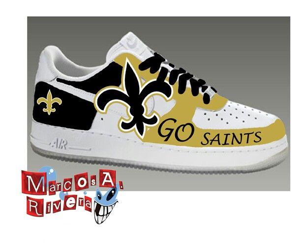 New Orleans Saints Tennis Shoes  ff0e73bbf
