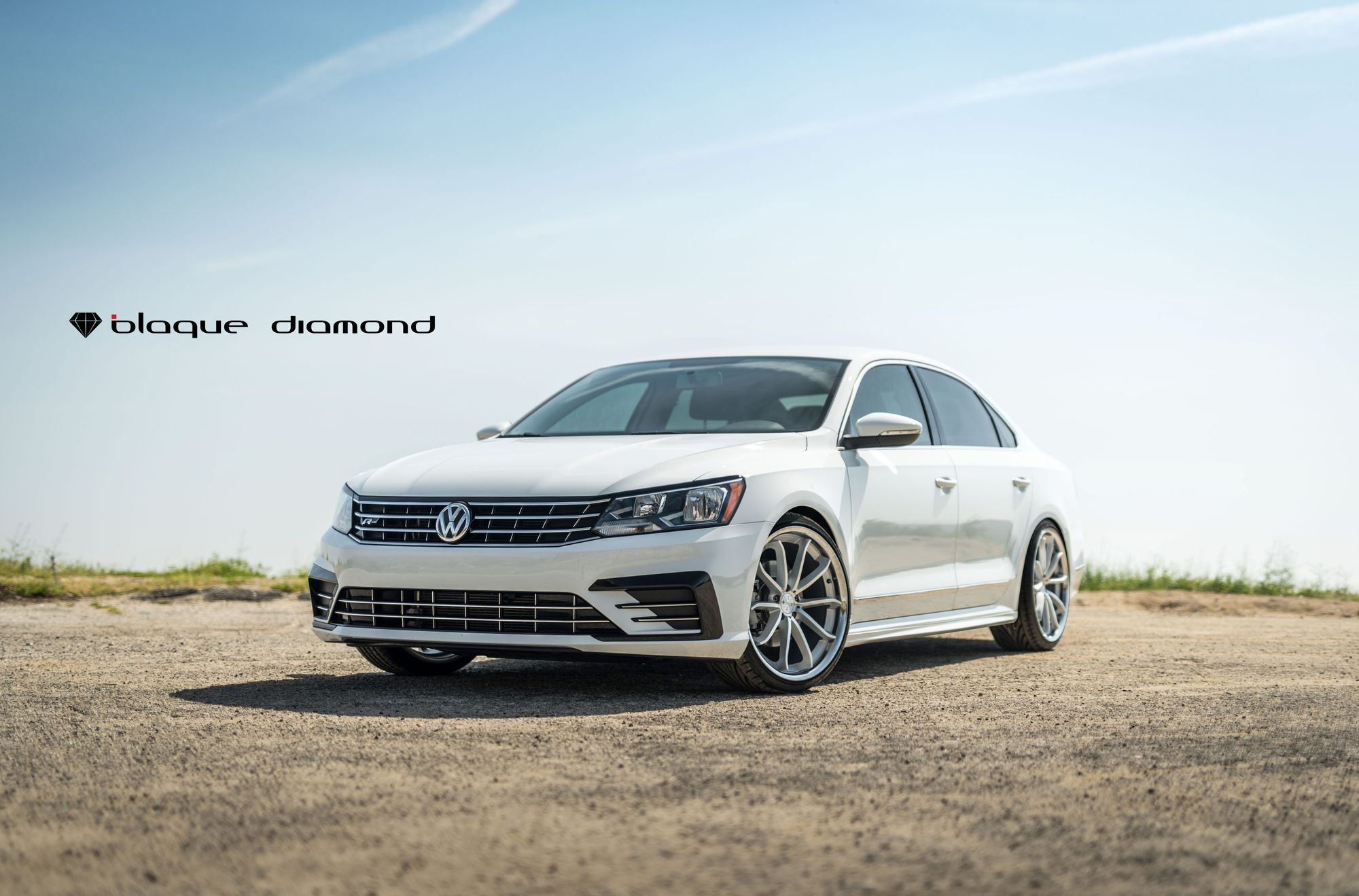Vw Aftermarket Parts >> Stylish Transformation Of White Vw Passat With Aftermarket