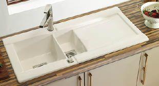 ceramic sink   My new kitchen   Pinterest   Ceramic sink, Sinks ...