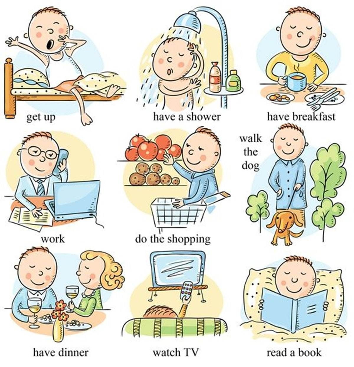 Useful English Phrases To Describe Your Daily Routines