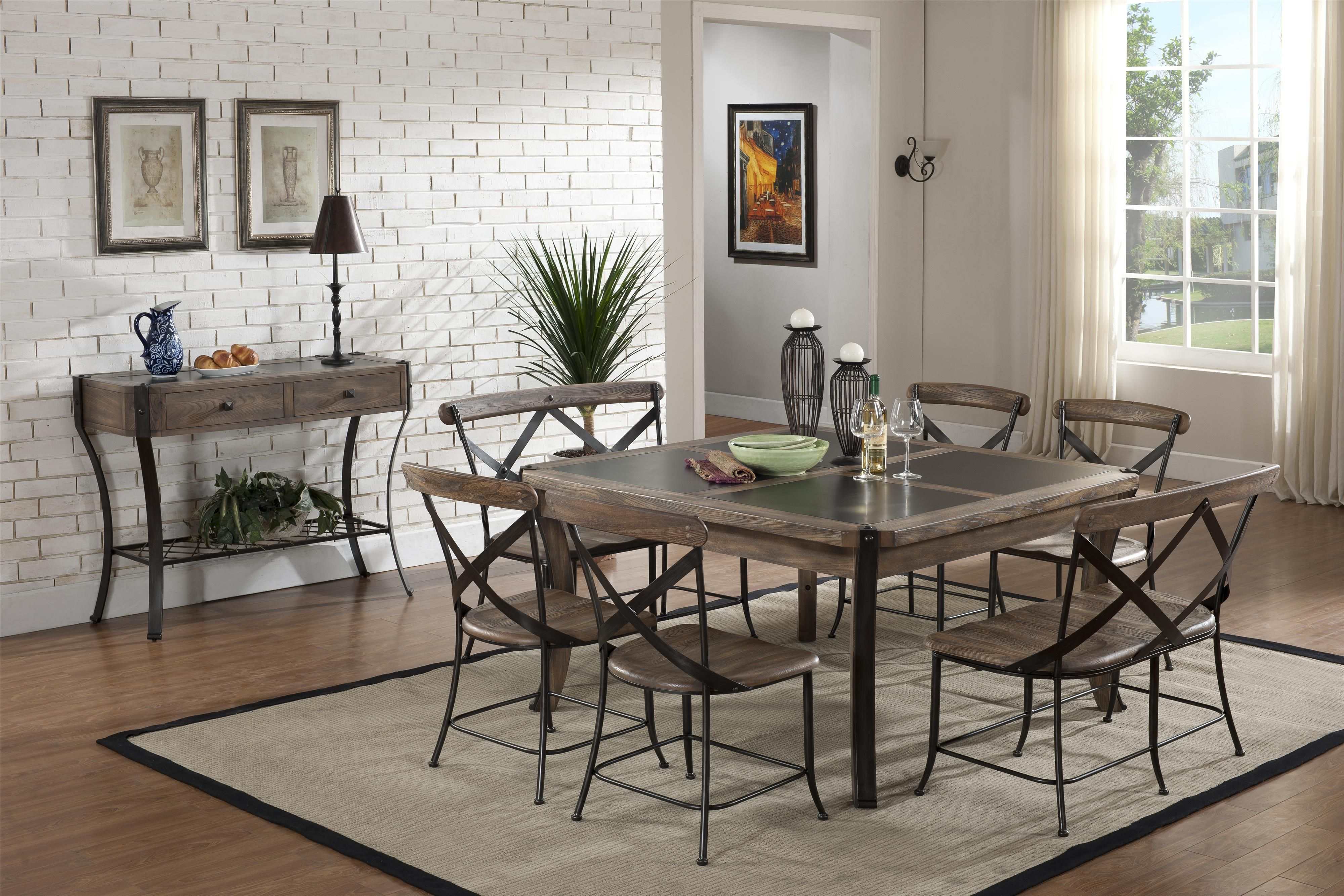 Lancaster 7 Piece Dining Set By Emerald With Images