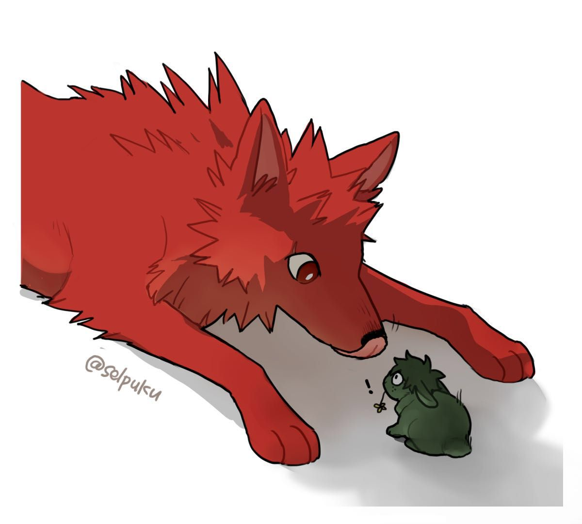 Photo of Wolf's Trust | Bakudeku – Chapter Five: The Red Wolf And The Bunny
