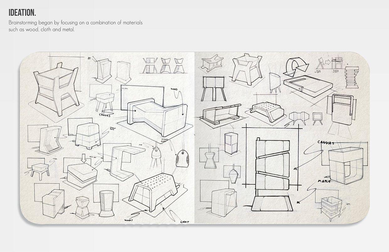 Tetra Desk Lamp By Greg Howe Design Sketch Croquis Drawing Light Lamp Croquis Schema