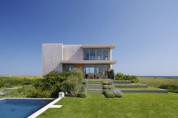 Oceanfront Modern Home in Bridgehampton New York architecture