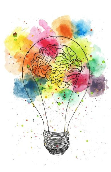 Creative Brain Art Print