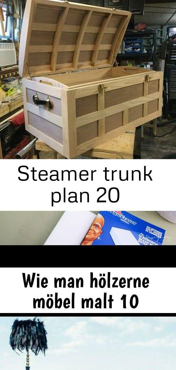 Steamer trunk plan 20 #steinebemalenanleitung