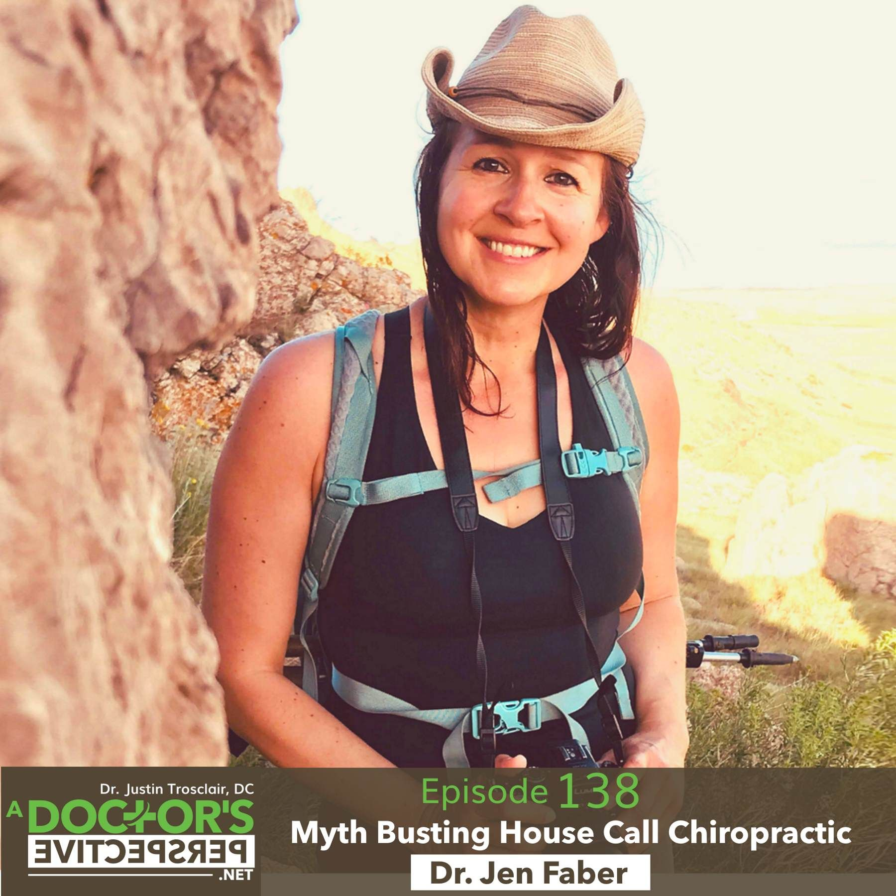 E 138 myth busting house call chiropractic dr jen faber