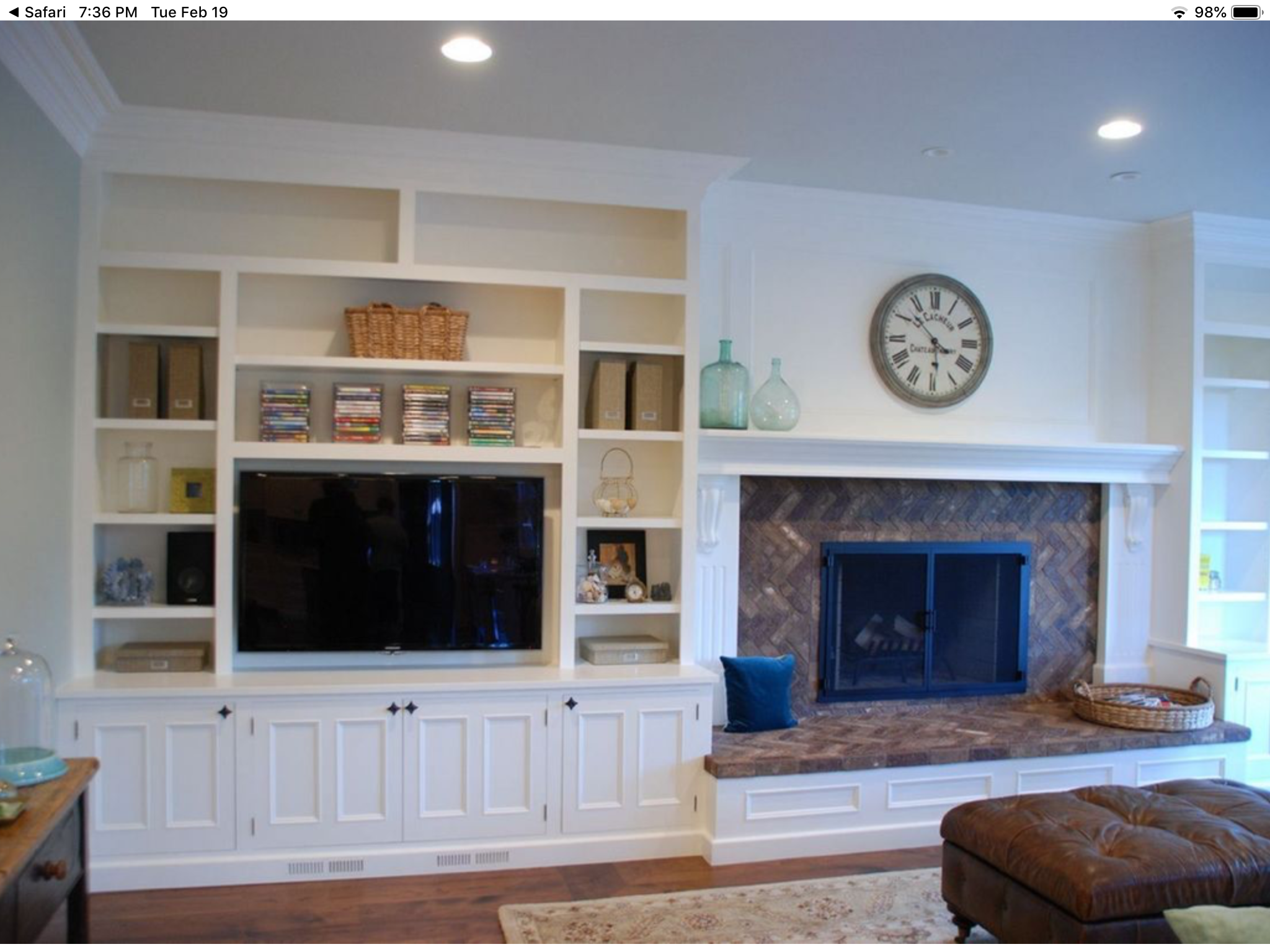 Pin By Babby Mccartney On New House In 2019 Fireplace Built Ins