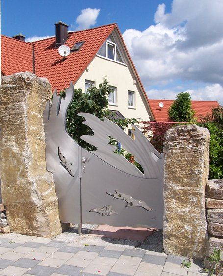 Stainless Steel Wave Gate