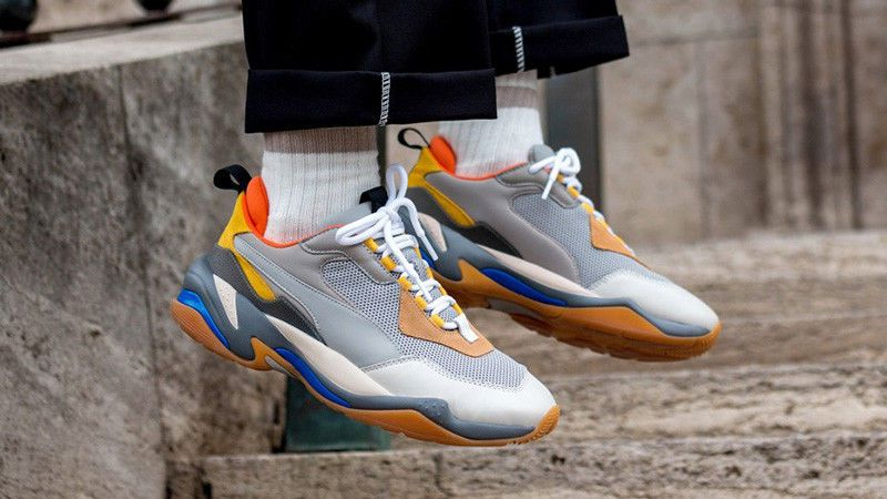 size 40 06152 702d9 Puma Thunder Spectra   Drizzle Steel Grey   Mens Trainers  367516 02   PUMA
