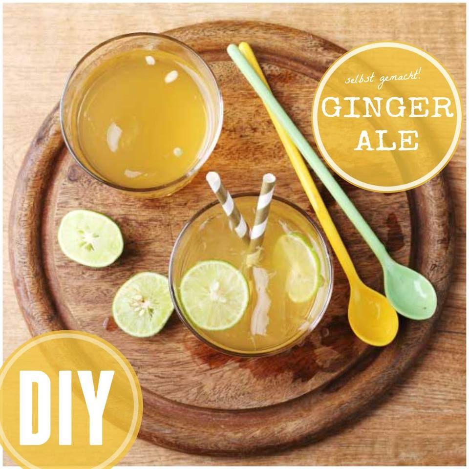 ginger ale selber machen in 2018 do it yourself tutorials pinterest k che selber machen. Black Bedroom Furniture Sets. Home Design Ideas