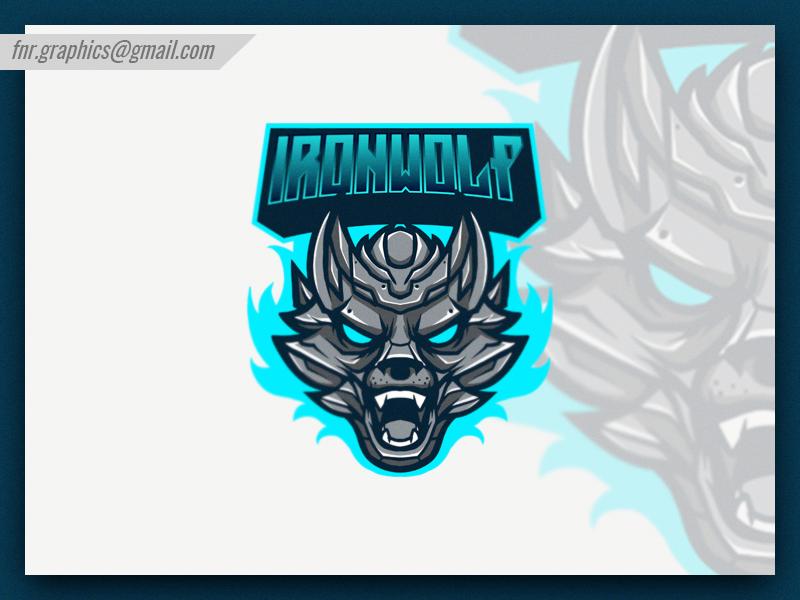 3d95b4873c6d6 Ironwolf Esport Logo   Mascot   Logos, Logo inspiration, Logos design