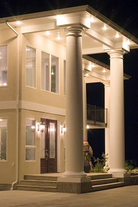 Huge Exterior Column Project House Front Design Dream House Exterior Architectural Columns