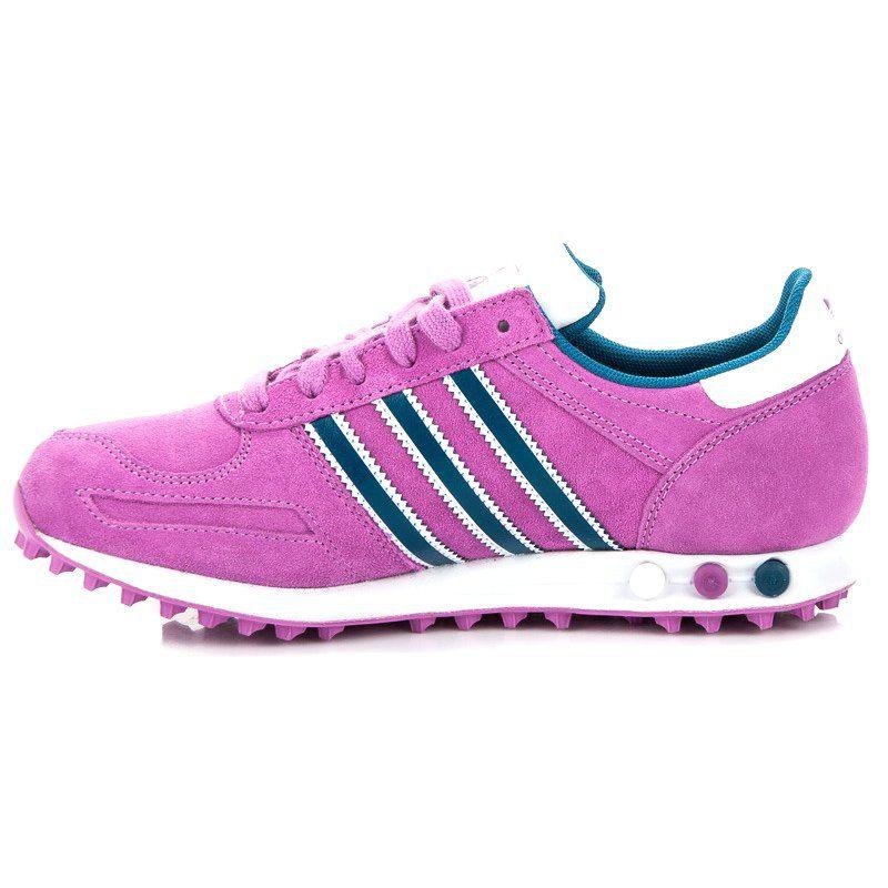 37d96c4d8e71d7 Różowe Adidas la trainer w | Tenisówki damskie | Adidas, Tenisówki i ...