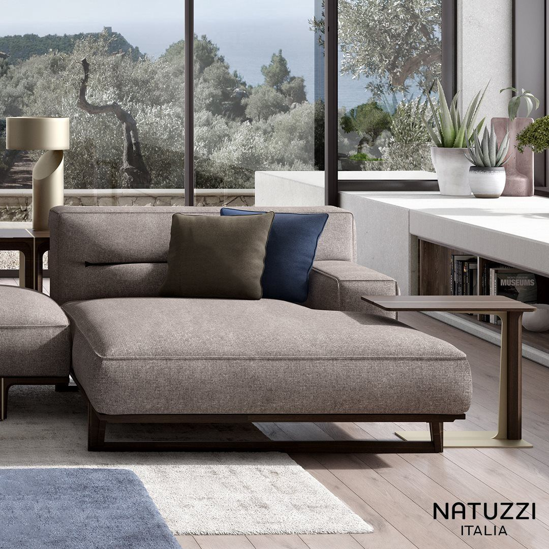 Natuzzi Design Bank.A Unique And Highly Distinctive Sofa Kendo Is A Masterpiece Of