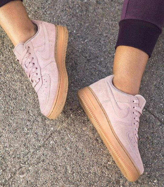 online retailer 28836 a6a1e Air Force 1 Suede To Gum Sneakers new nike pink white sneakers  beautiful Air Force 1 (affiliate link)