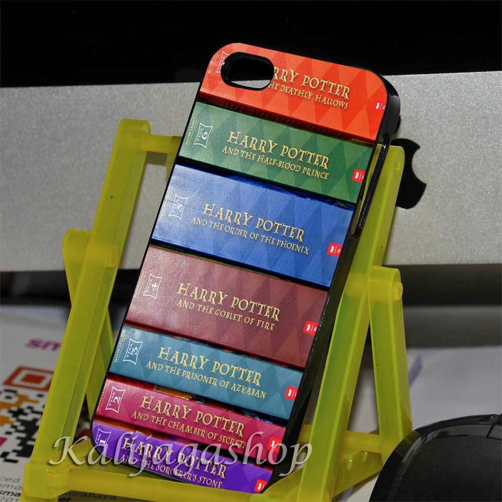 Harry potter book's new series case for iphone by KalijagaShop, $14.25