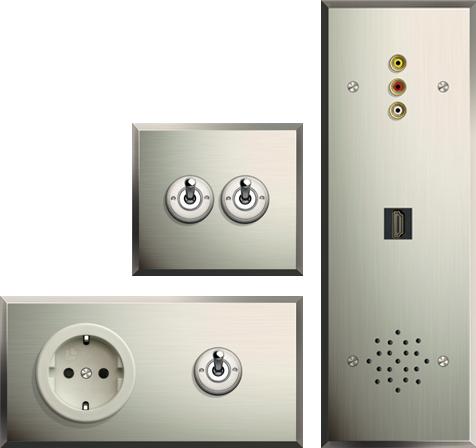 Llin s bcn interruptores cl sicos y modernos pinterest y - Interruptores clasicos ...