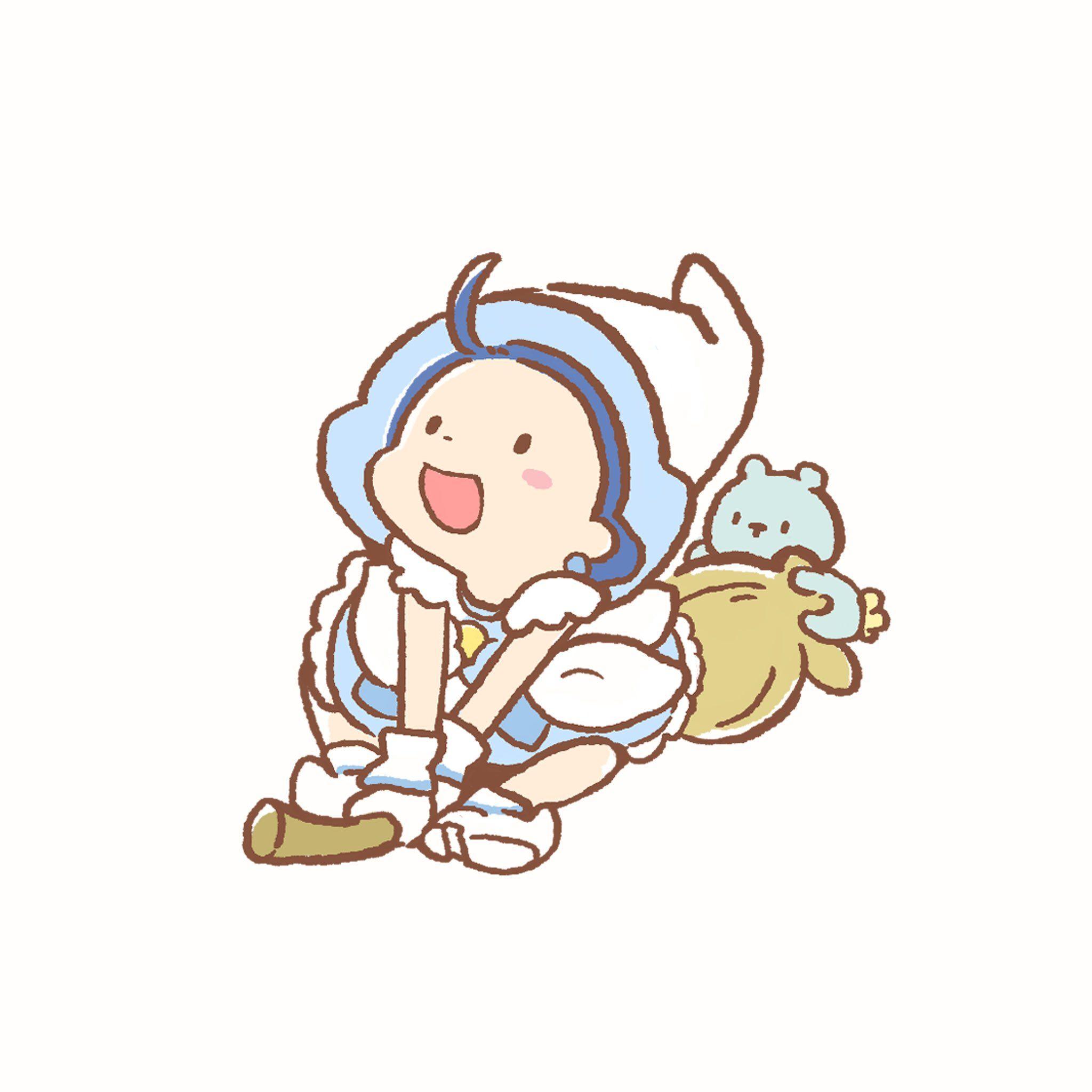 小玉米花 on Twitter | Characters inspiration drawing. Ojamajo doremi. Magical dorémi