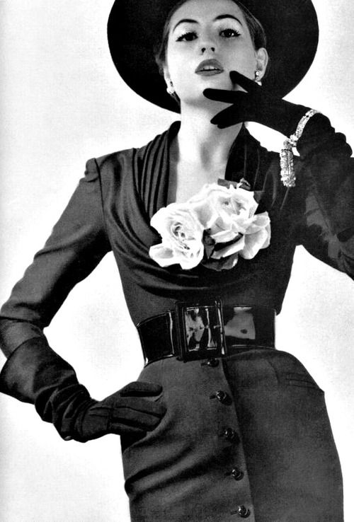 Jacques Fath's day dress for La Femme Chic, 1951