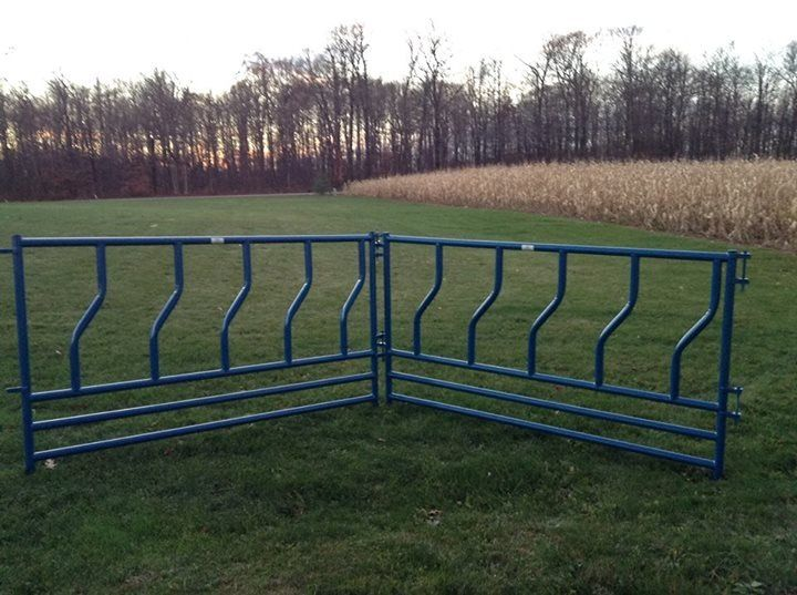 Full Length Feeder Panels For Cattle Feeding Cattle