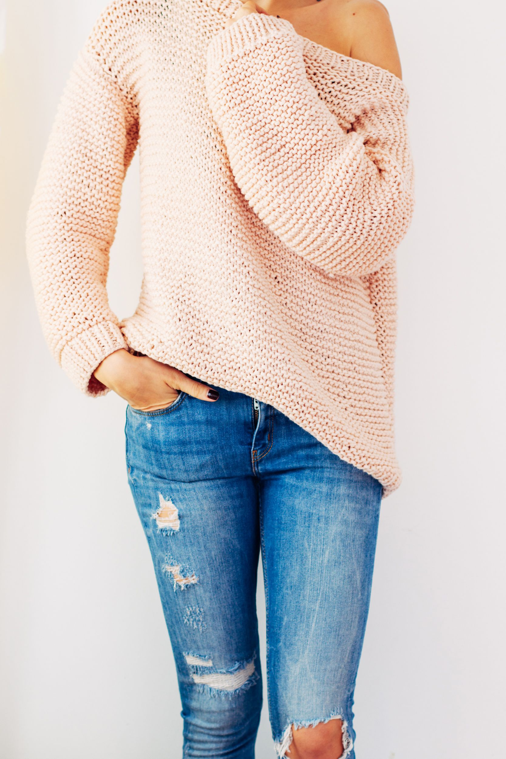 Knit A Sweater Easy : Diy oversize knitted sweater craft pinterest