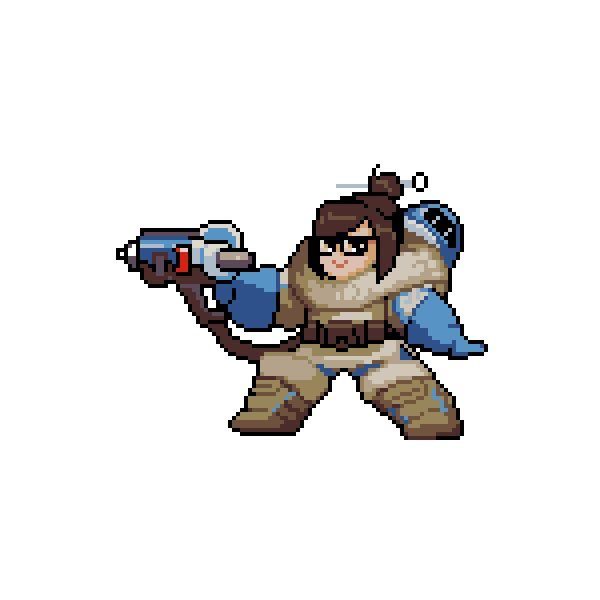 All Overwatch Pixel Sprays Transparent Png Format Free Cartoon Characters Pixel Characters Game Character
