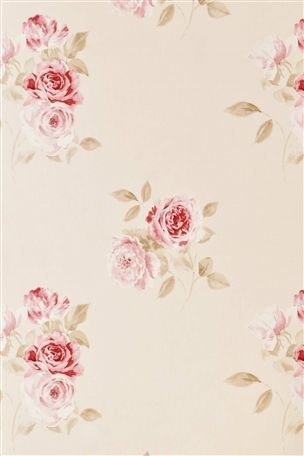 Buy Vintage Red Rose Wallpaper From The Next Uk Online Shop