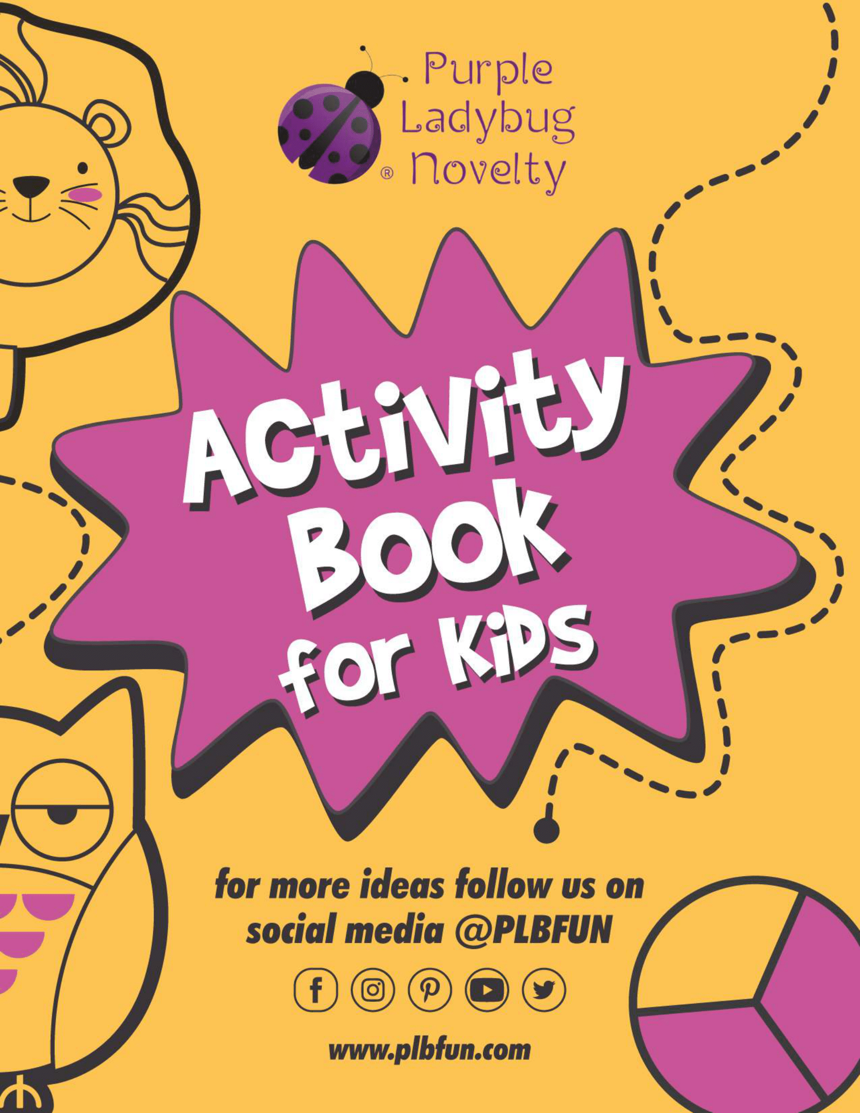 Activity Book For Kids By Plbfun In