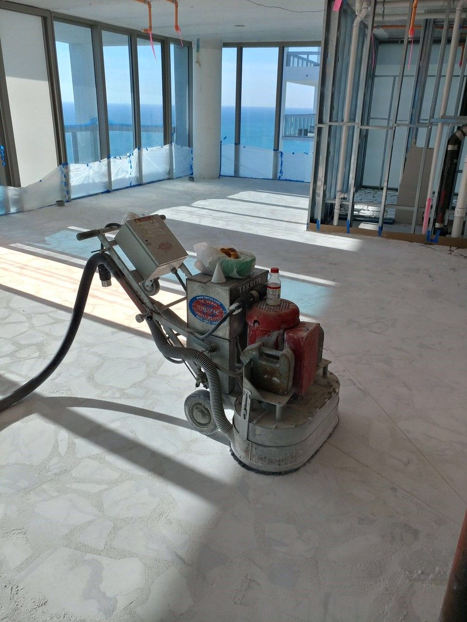Palladiana Terrazzo Floor Recently Grind And Grout By Act