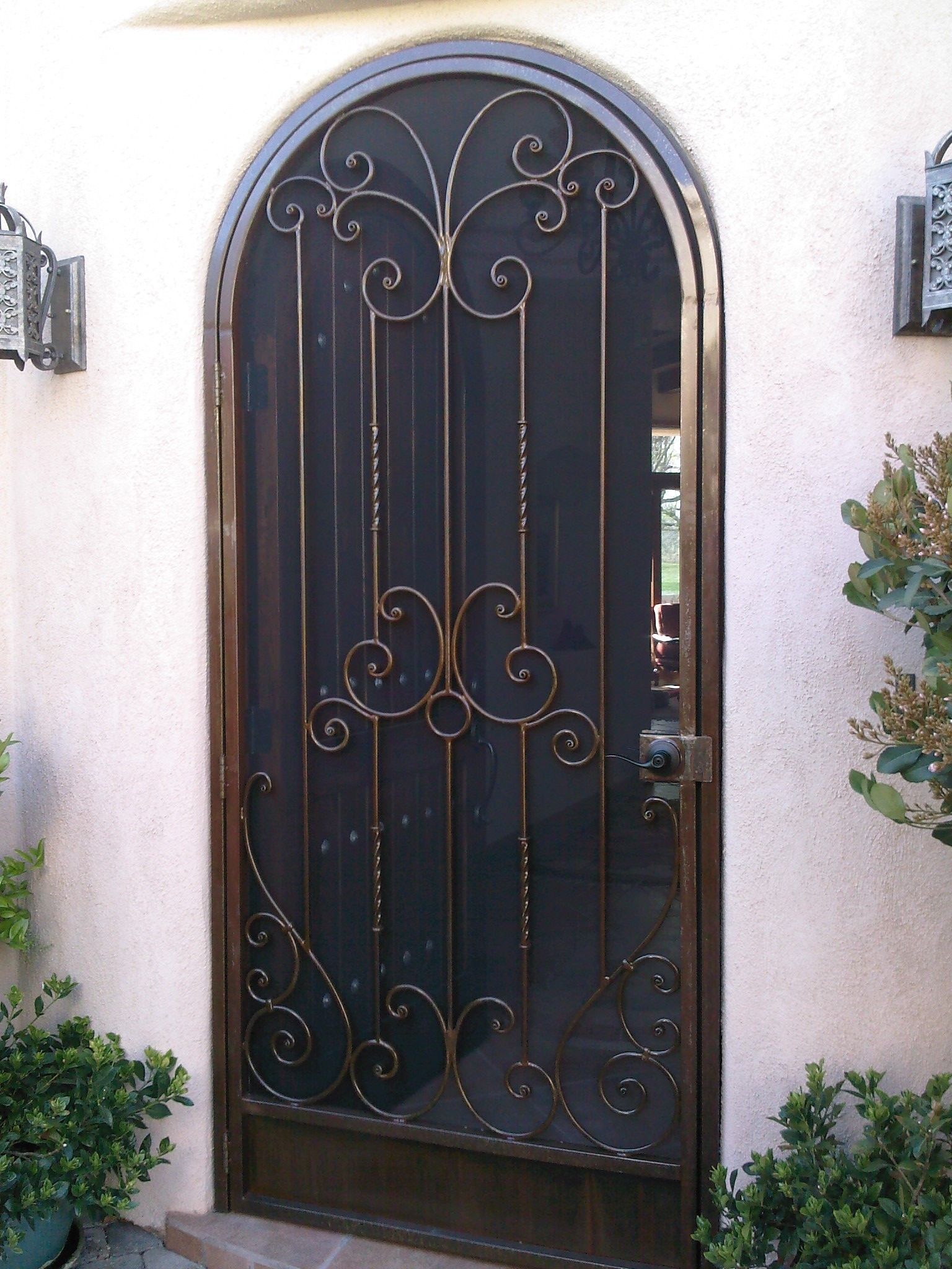 Pin De Crest Pointe Cottage En Doors I Adore Iron Doors