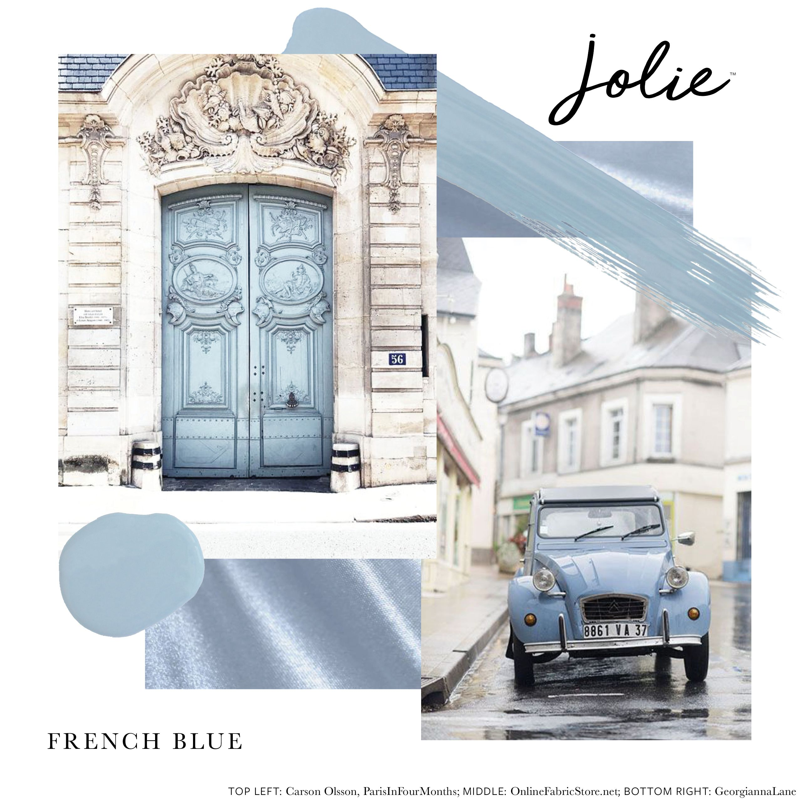 French Blue Jolie Paint In 2019 Dark Paint Colors