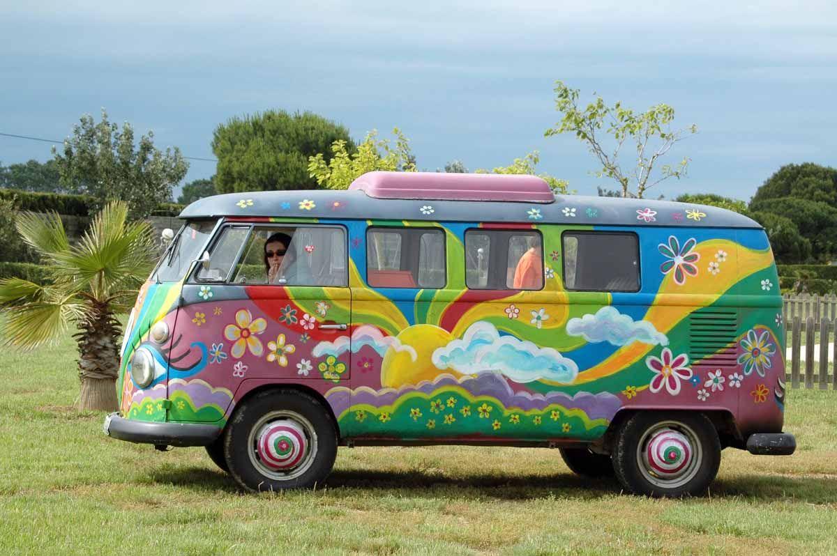hippy vw kombi camper vans. Black Bedroom Furniture Sets. Home Design Ideas