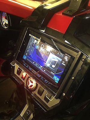 Dashboard Installation Kits Polaris Slingshot Marine Dash Kit Waterproof Radio Cover For Double