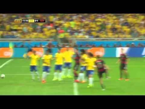 Brazil Vs Germany 1 7 Highlights 2014 Fifa World Cup Semi Finals World Cup Semi Final Fifa World Cup Brazil Vs Germany